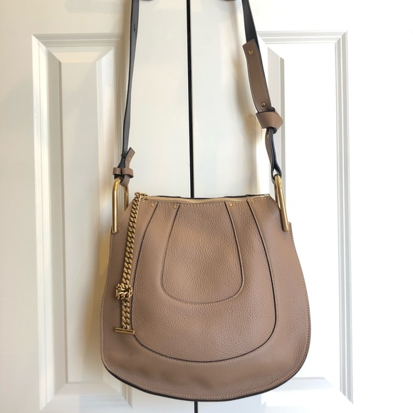 a8d84c6798 Chloe Bags | Authentic Hayley Leather Hobo In Nut | Poshmark